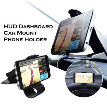 HUD Dashboard Car Phone Holder Car Mount