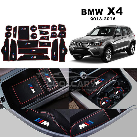 Interior Slot Mat BMW X4 2013-2016 Interior Slot Mat