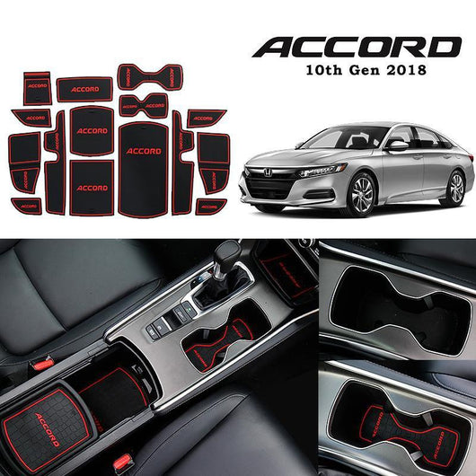 Interior Slot Mat Honda Accord 10th Gen Car Interior Slot Mat