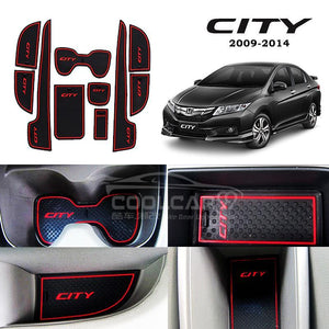 Interior Slot Mat Honda City 2009-2014 Interior Slot Mat