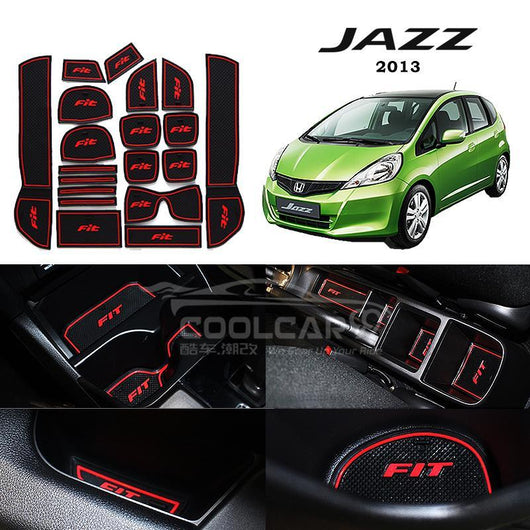 Interior Slot Mat Honda Jazz 2013 Interior Slot Mat
