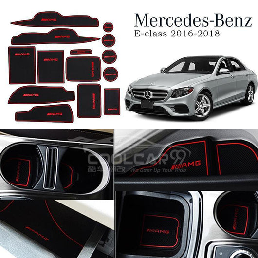 Interior Slot Mat Mercedes Benz E-class 2016-2018 Interior Slot Mat