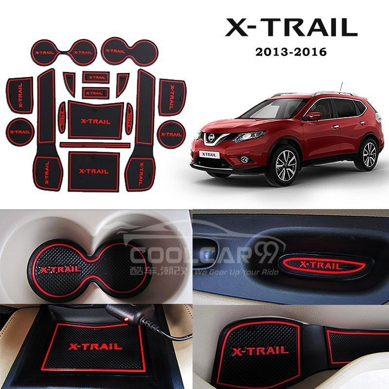 Interior Design Nissan X Trail: Nissan X-Trail 2013-2016 Interior Slot Mat
