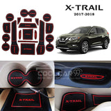 Interior Slot Mat Nissan X-Trail  2017-2018 Interior Slot Mat