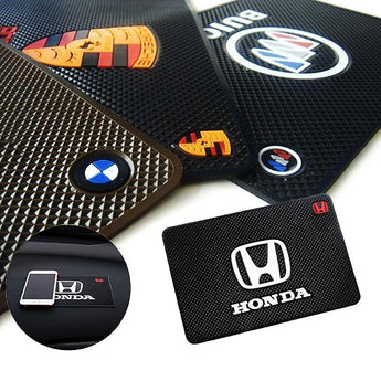 Interior Slot Mat Silicone Anti-Slip Mat Car Dashboard Pad