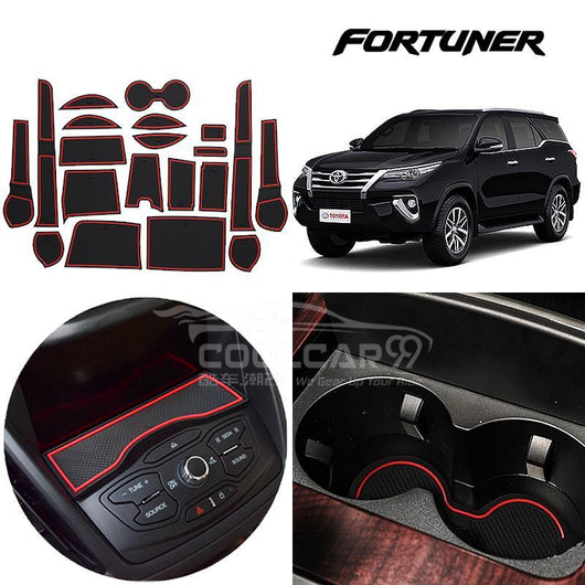 Toyota Fortuner 2015-2018 Interior Slot Mat