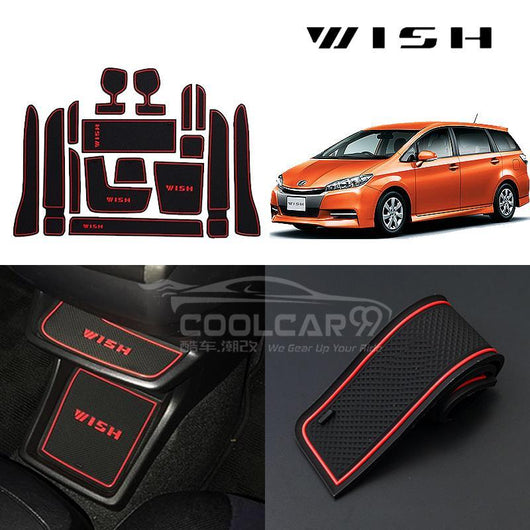 Interior Slot Mat Toyota New Wish AE20 Interior Slot Mat