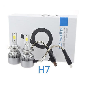 LED 2PCS C6 LED Headlight H1 H3 H4 H7 H11 9005 9006 Car Headlight LED Bulb
