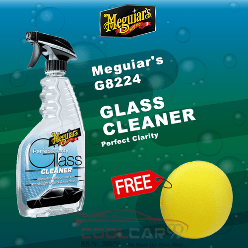 Meguiar's G8224 Perfect Clarity Glass Cleaner 24oz Spray