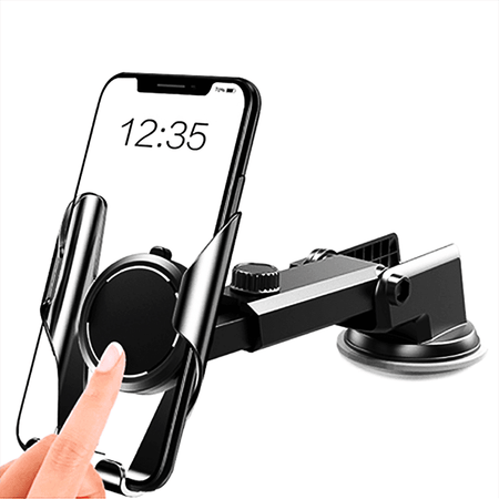 Phone Holder High Quality 360° Rotating Car Phone Holder Retractable