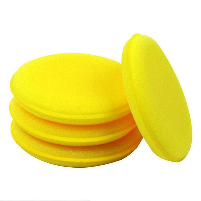 Polish & Wax Car Waxing Yellow Sponge Pad Cleaning Sponge Pad