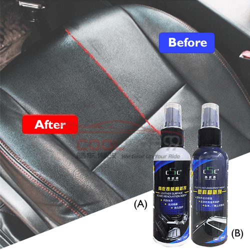 Polish & Wax Leather Surface Board Renovation Agent Plastic Refurbishment Agent Car Coating Brightness Whitening