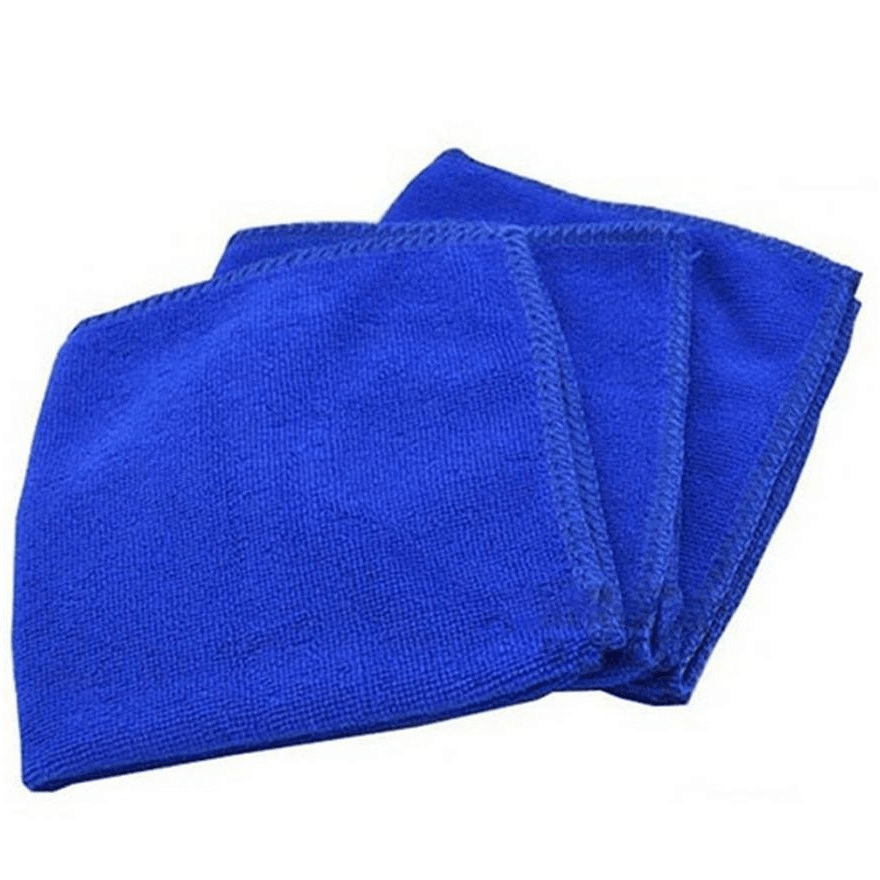 Polish & Wax Blue Ultra Soft Microfiber Towel Car Washing Cloth for Car Polish& Wax Car Care Styling Cleaning Microfibre 30x30cm