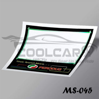 Roadtax Sticker Perodua Car Road Tax Sticker