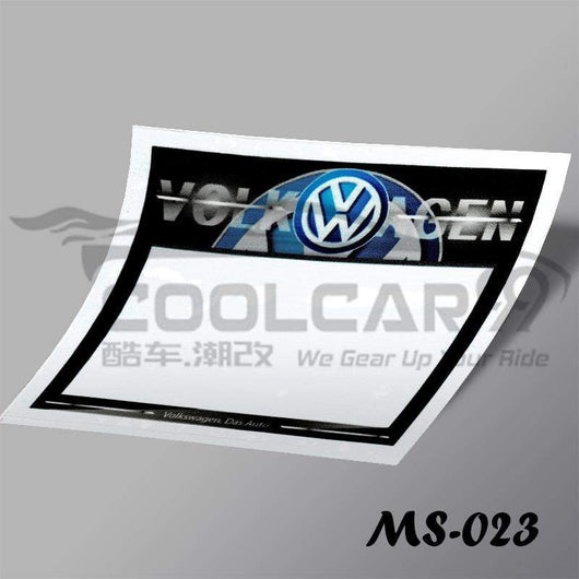 Roadtax Sticker Volkswagen Car Road Tax Sticker