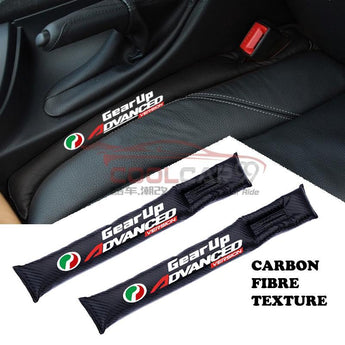 Seat Gap Filler Proton Perodua Carbon Fiber Car Seat Gap Leak-Proof Plug 2PCs