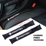 Seat Gap Filler Peugeot Proton Carbon Fiber Car Seat Gap Leak-Proof Plug 2PCs