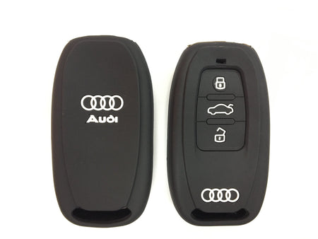 Silicone Key Cover COMBO-RED Audi A4L / Q5 Silicone Key Case Cover