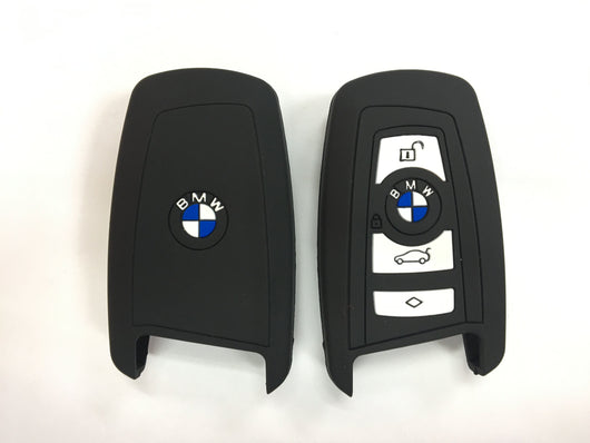 Silicone Key Cover BLACK BMW F10 / X3 / M2 / 2 3 5 7 Series Silicone Key Case Cover