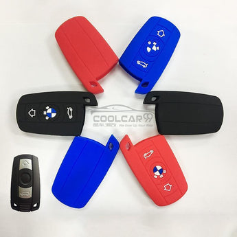 Silicone Key Cover BLACK BMW X5 / X6 / 1,3,5 Series Silicone Key Case Cover