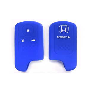 Silicone Key Cover Blue x 1 Honda Civic FB 2011-2015 Silicone Key Case Cover