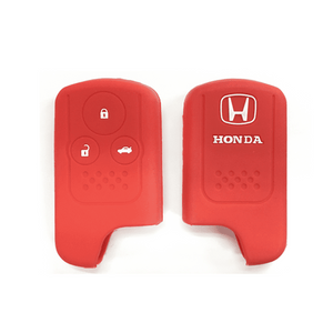 Silicone Key Cover Red x 1 Honda Civic FB 2011-2015 Silicone Key Case Cover