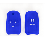 Silicone Key Cover Blue x 1 Honda Silicone Key Case Cover