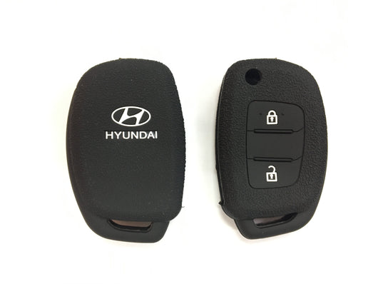 Silicone Key Cover BLACK Hyundai Ix35 Silicone Key Case Cover