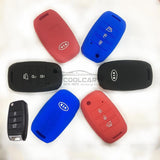 Silicone Key Cover BLACK Kia K3 Silicone Key Case Cover