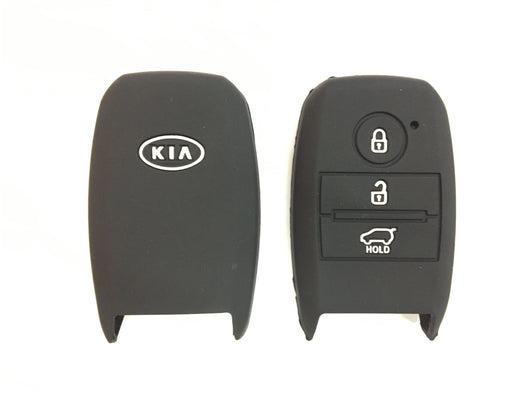 Silicone Key Cover BLACK Kia K5 Sportage Silicone Key Case Cover