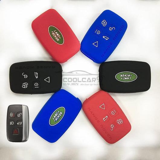 Silicone Key Cover BLACK Land Rover / Range Rover Silicone Key Case Cover