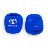 Silicone Key Cover Blue x 1 Toyota Alphard AH10 2002-2008 Silicone Key Case Cover