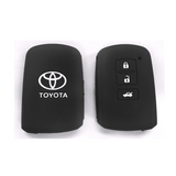 Silicone Key Cover Black x 1 Toyota Altis / Camry Silicone Key Case Cover
