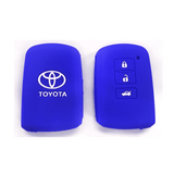 Silicone Key Cover Blue x 1 Toyota Altis / Camry Silicone Key Case Cover