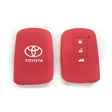Silicone Key Cover Red x 1 Toyota Altis / Camry Silicone Key Case Cover