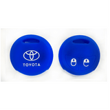 Silicone Key Cover Blue x 1 Toyota Vios / Altis Silicone Key Case Cover