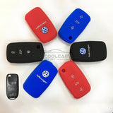 Silicone Key Cover BLACK Volkswagen Silicone Key Case Cover
