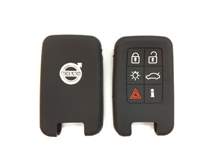 Silicone Key Cover BLACK Volvo Silicone Key Case Cover