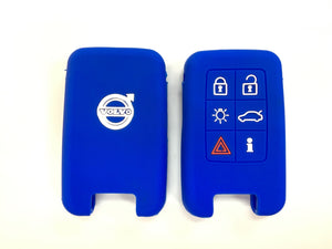 Silicone Key Cover BLUE Volvo Silicone Key Case Cover
