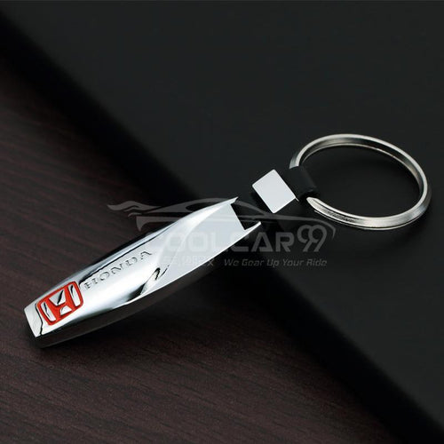 Stainless Keychains With Logo Stainless Steel Car Key Chain Honda High Solid Stainless Steel Car Key Chain