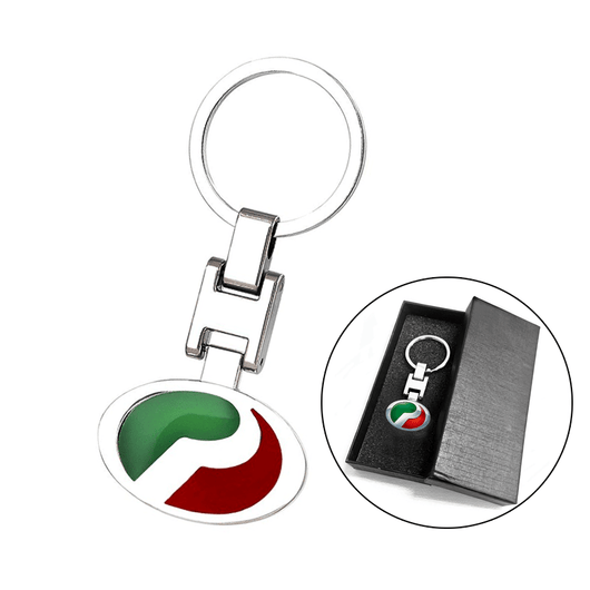 Stainless Keychains With Logo PERODUA Stainless Steel Metal Car Logo Keychain 3D Key Chain