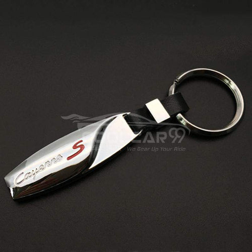 Stainless Keychains With Logo Stainless Steel Car Key Chain Porsche Cayenne S High Solid Stainless Steel Car Key Chain