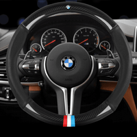 Steering Cover Carbon BMW Carbon Fiber Leather Steering Cover