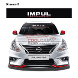 改装无罪 Sticker SILVER Nissan Nismo Impul Front Windscreen Windshield Window Sticker