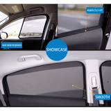 Sunshade Civic FB Honda Civic FB 2012-2015 KUNG FU SHADES Fully Magnectic Sunshade 4 PCS