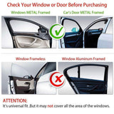 Sunshade 4 Pcs TOYOTA Vios 2002-2006 KUNG FU SHADES Fully Magnectic Sunshade 4 PCS