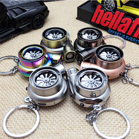 Turbo Keychains Turbo Key Chain (BLK) Turbo Key Chain ( Lighter + Sound + LED )