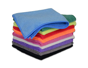 Ultra Soft Microfiber Towel Car Washing Cloth for Car Polish& Wax Car Care Styling Cleaning Microfibre 30x30cm