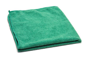 Green Ultra Soft Microfiber Towel Car Washing Cloth for Car Polish& Wax Car Care Styling Cleaning Microfibre 30x30cm