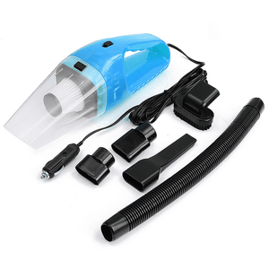 Vacuum Cleaner Blue 5M 120W 12V Car Vacuum Cleaner Super Suction Wet And Dry Dual Use Vaccum Cleaner
